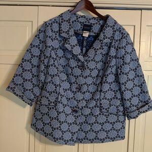 Doncaster Blue & White Jacket